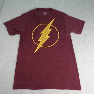DC Comics Burgundy Flash Gordan T-Shirt Small